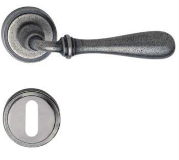 Valli & Valli serie H 1004 Antares Maniglia per porta interna rosetta bocchetta normale Fumè