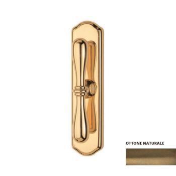 Valli & Valli serie h1004 Antares maniglia per finestra cremonese ottone naturale