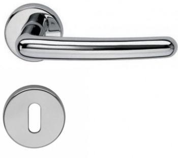 Valli & Valli serie H 163 Sarissa Maniglia per porta interna rosetta bocchetta foro normale Cromo
