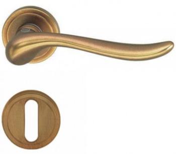 Valli & Valli serie H 165 Germana Maniglia per porta interna rosetta bocchetta foro normale Anticata