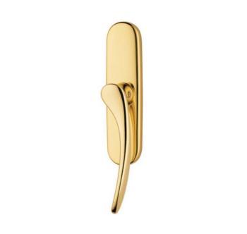 Valli & Valli  serie h198 Mizar maniglia per finestra cremonese oro