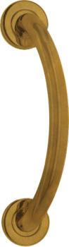 Valli & Valli  serie K1188 mm 210 maniglione ottone satinato