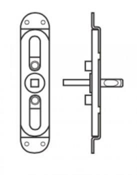 Valli & Valli accessorio per cremonese per porte finestre movimento per aste e gioco centrale Q7