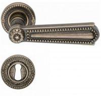 Valli & Valli serie H 123 Luigi XVI Maniglia per porta interna rosetta bocchetta foro normale Oro naturale