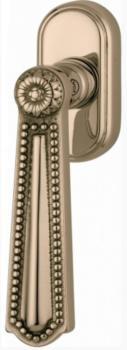 Valli & Valli serie H 123 Luigi XVI maniglia per finestra DK Oro