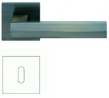 Valli & Valli serie H 1040 Siberia Maniglia per porta interna rosetta bocchetta foro normale Bronzo satinato