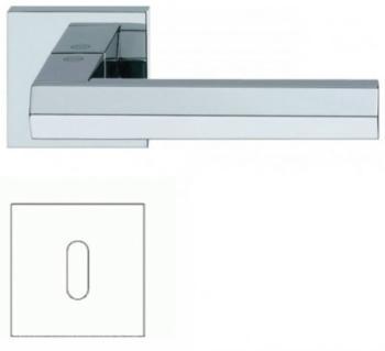 Valli & Valli serie H 1040 Siberia Maniglia per porta interna rosetta bocchetta foro normale Cromo