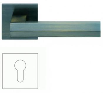 Valli & Valli serie H 1040 Siberia Maniglia per porta interna rosetta bocchetta foro per cilindro Bronzo satinato