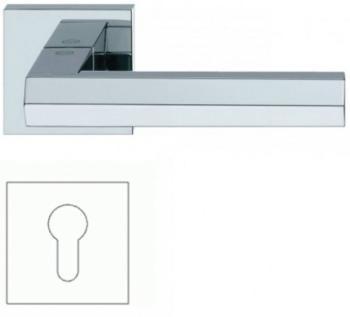 Valli & Valli serie H 1040 Siberia Maniglia per porta interna rosetta bocchetta foro per cilindro Cromo