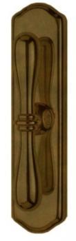 Valli & Valli  serie h1004 Antares maniglia per finestra cremonese brunito