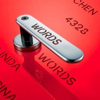 Costo lettere da 1 a 5 per lato maniglia H 1055 Words Valli & Valli
