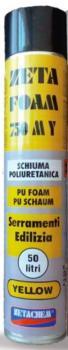 Schiuma poliuretanica per serramenti ed edilizia Zeta Foam 750 MY Manuale 750 ml
