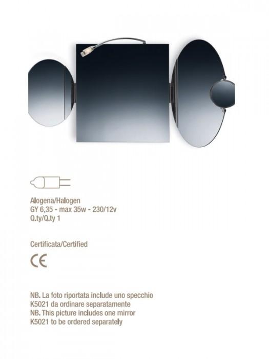 Lampada da specchio k6178 valli arredobagno serie - Lampada per specchio ...
