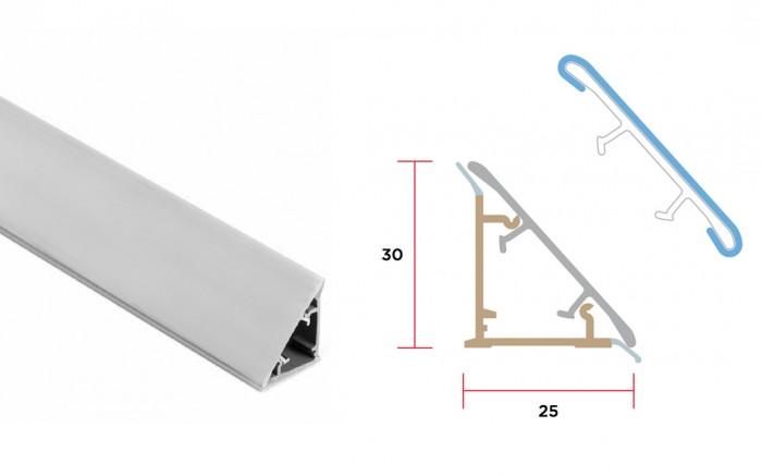 Alzatina triangolare - Accessori per mobile - Tuttoferramenta