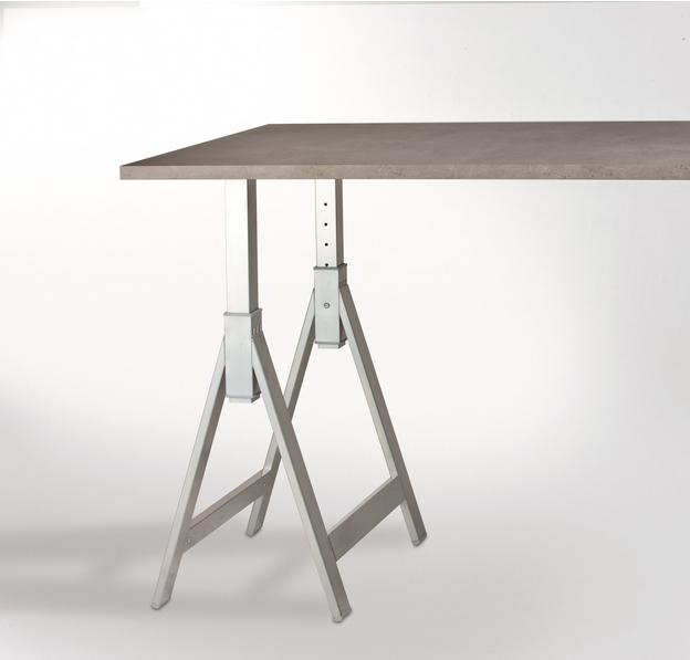 Cavalletto per tavolo Cieffe T15 misura 710 x 600 mm regolabile in ...