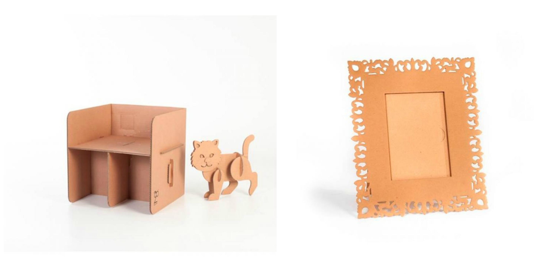 Arredi e mobili di cartone for Arredi di cartone