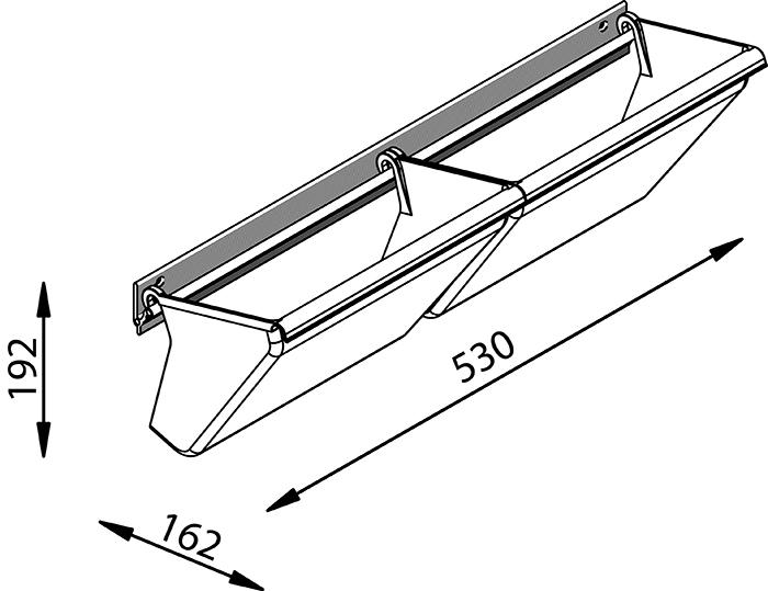 Portascarpe wall per armadi servetto tuttoferramenta - Portascarpe da armadio ikea ...