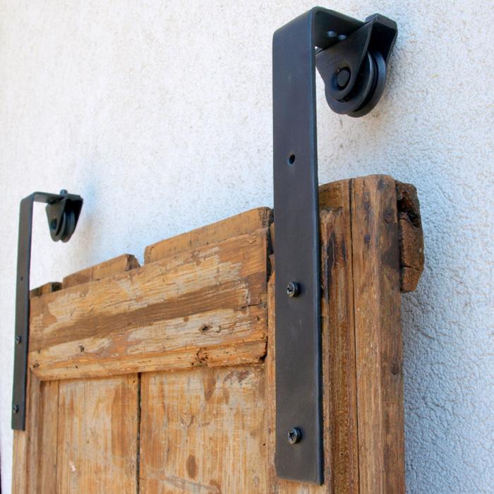 Finitura nero opaco - Porta scorrevole esterna fai da te ...