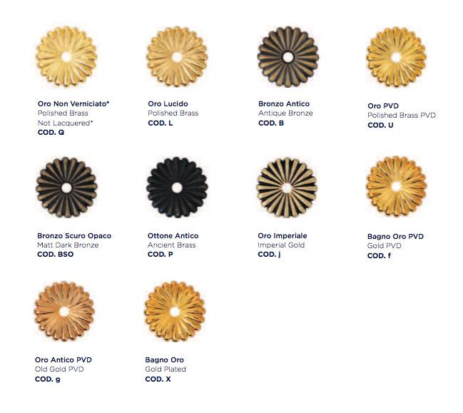 Maniglie per porte enrico cassina serie coloniale for Maniglie on line