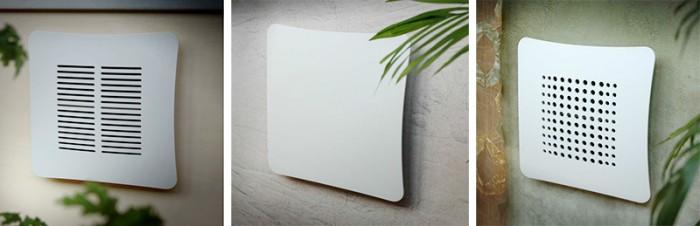 Airdecor griglia aerazione design tuttoferramenta - Griglie di aerazione design ...