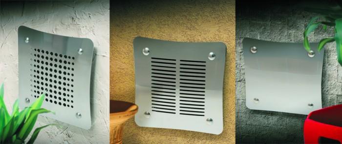 Airdecor griglia aerazione design acciaio inox - Griglie di aerazione design ...