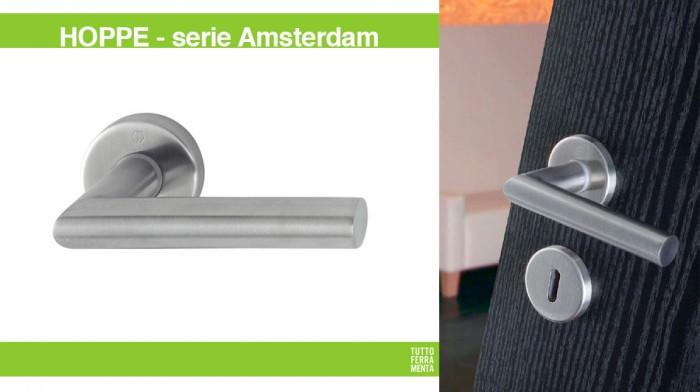 Maniglie design Porte e finestre Amsterdam HOPPE | Tuttoferramenta