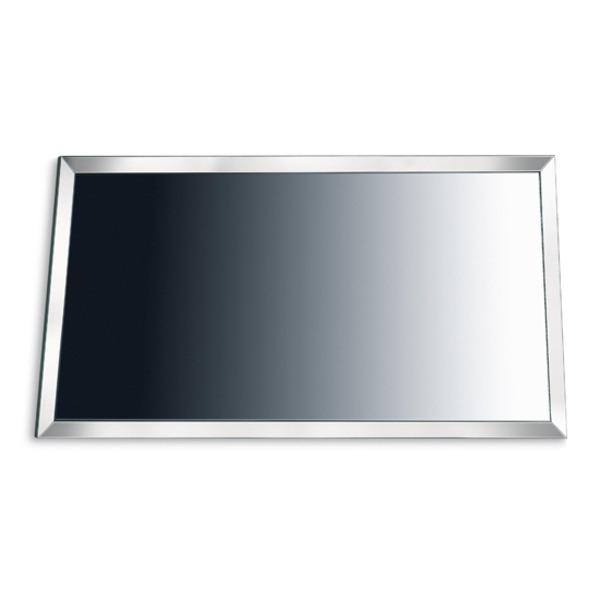 Specchio rettangolare per bagno moderno con cornice in for Gaia arredo bagno