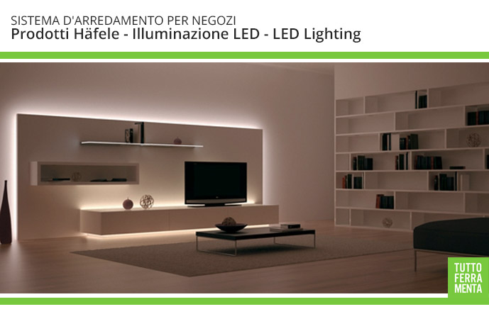 Luci led e accessori per illuminare della casa mobili for Luci led per casa