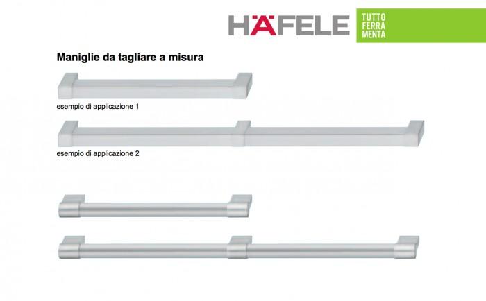 Maniglie componibili per mobili h fele for Maniglie on line