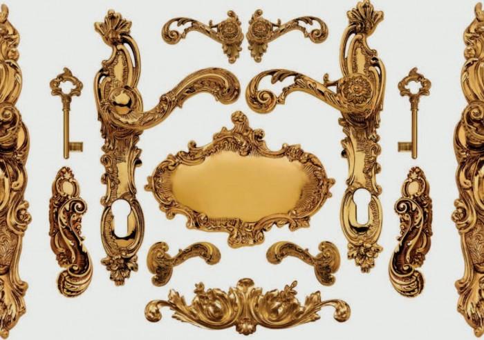 Luigi xv maniglie online in stile enrico cassina for Maniglie on line
