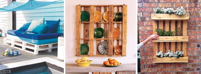 Pallet per arredo bancali epal for Arredamento ortofrutta in legno