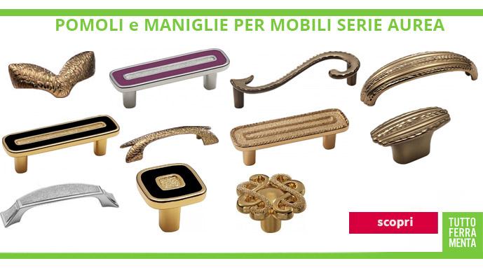 Maniglie e pomelli per mobili le fabric tuttoferramenta - Maniglie mobili cucina ...