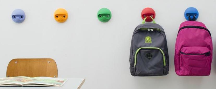Appendiabiti Da Muro Per Bambini.Appendiabiti Per Bambini Colorati Da Parete Tuttoferramenta