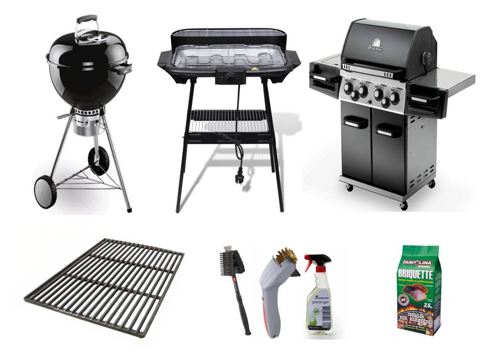 Barbecues, accessori, pulizia