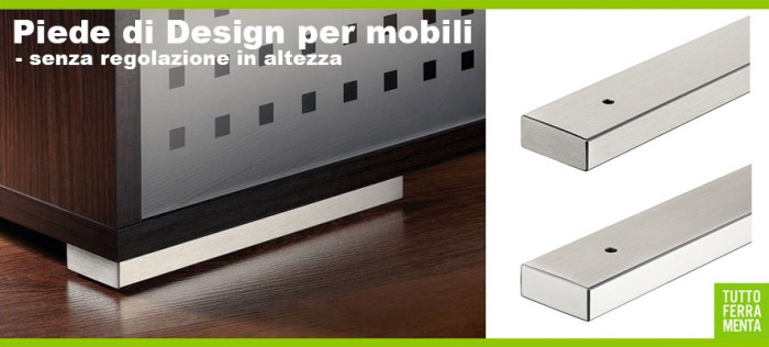 Piede di Design per mobile