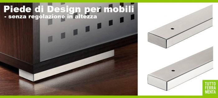 Utili per progettare la cucina più adatta a voi, i piedini per mobili ...