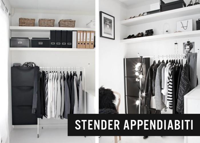 Stender portabiti stender fidia for Stender appendiabiti bricoman