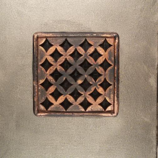 Griglie aerazione airdecor verniciatura rame antico - Griglie di aerazione design ...