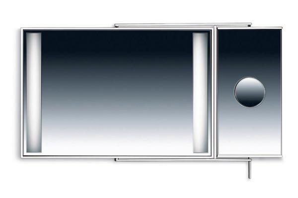 specchio per bagno valli arredobagno serie athena k 8025 ... - Athena Arredo Bagno