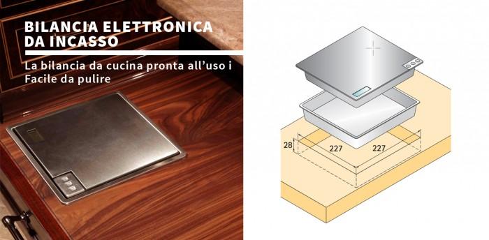 Bilancia da incasso accessori cucina - Bilancia elettronica da cucina ...