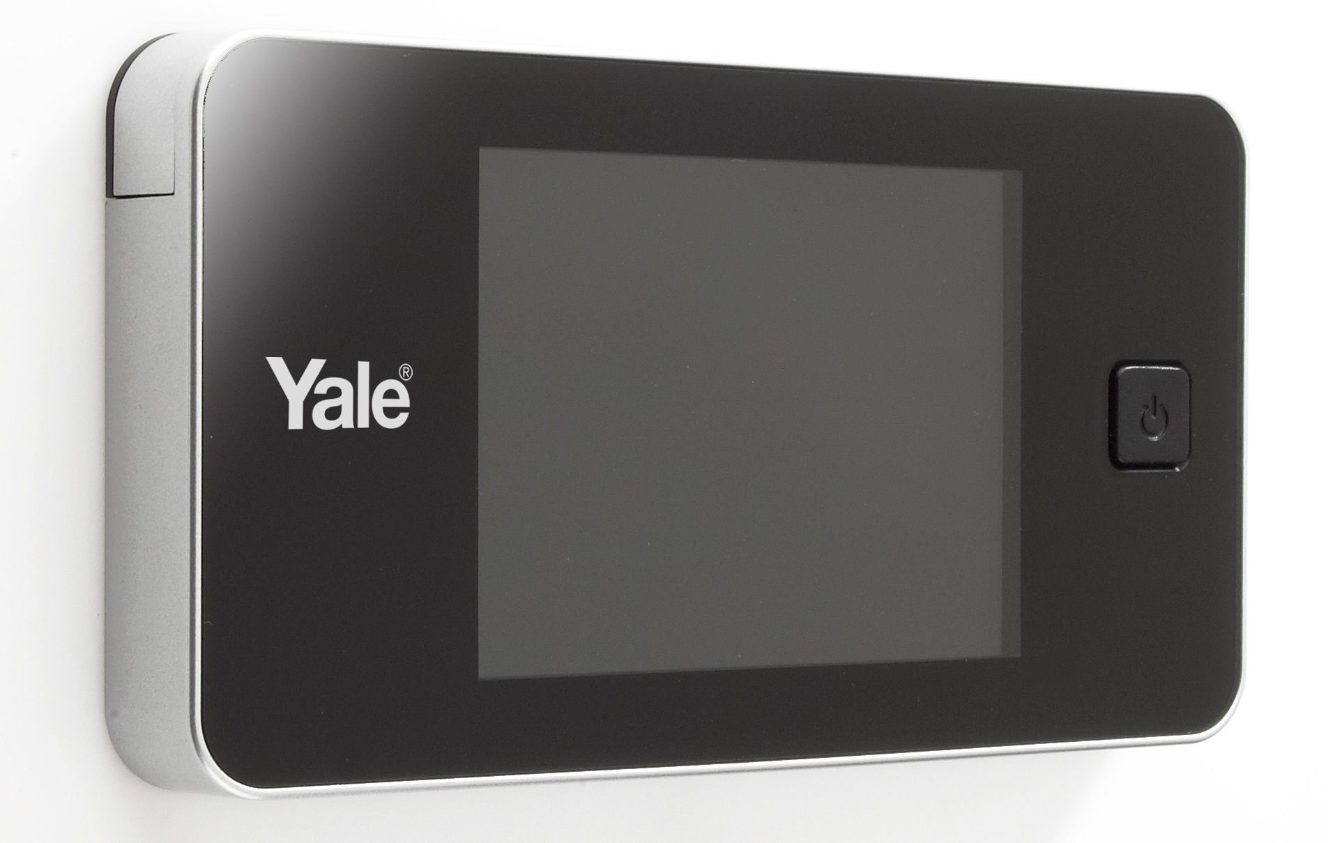 spioncino elettronico yale standard argento