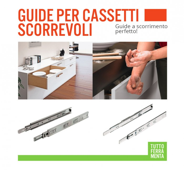 Guide cassetti scorrevoli pompa depressione for Guide telescopiche pesanti