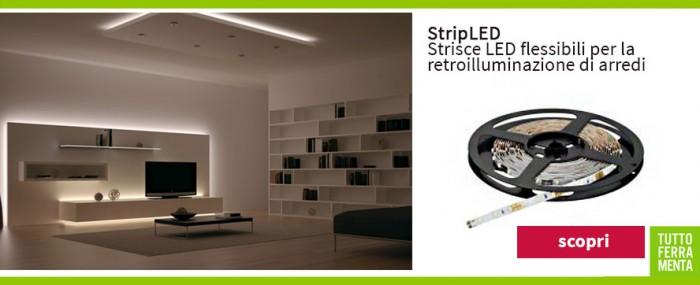 Luci led e accessori per illuminare della casa mobili armadi e pensili tuttoferramenta - Illuminazione led casa ...