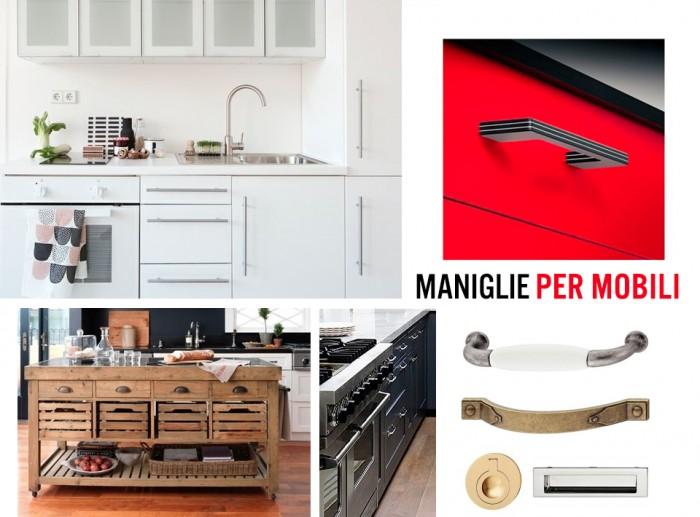 Maniglie per mobili design h fele rustiche classiche e moderne pomoli mobile - Maniglie plastica per mobili ...