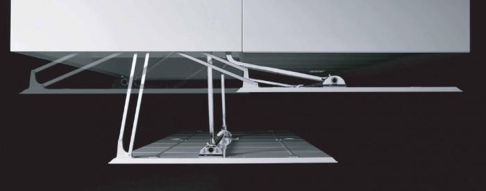 Motion-V meccanismo rototraslante da 780 a 880 mm ...