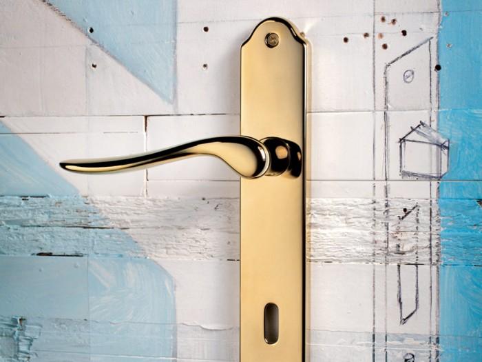 Maniglie di design per porte e finestre tuttoferramenta olivari modello orvieto - Maniglie per finestre olivari ...