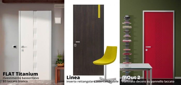 porte blindate ALIAS serie contemporanea