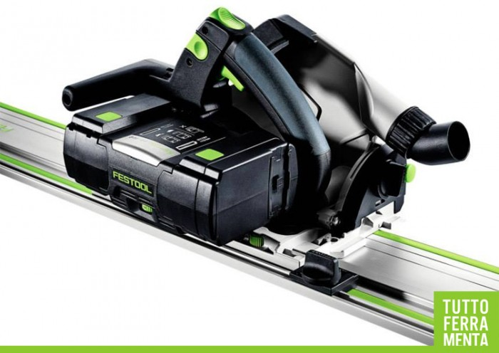 Festool sega da affondamento a batteria