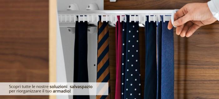 Accessori armadio cabina armadio accessori casa - Portacravatte per armadi ...