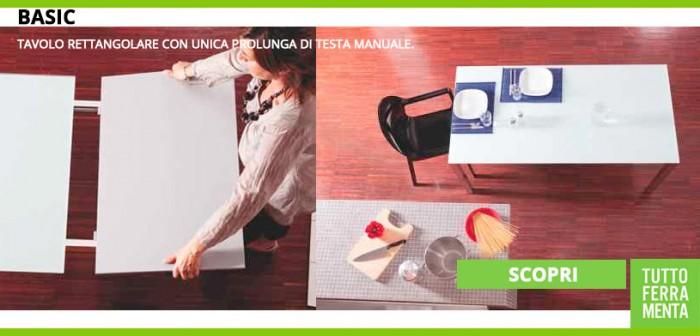 Tavoli per ufficio cucina salotto trasformabili for Prolunga tavolo